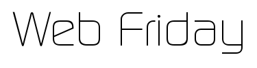 Logo of Web Friday